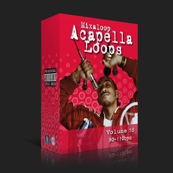 Mixaloop Acapella Loop Pack - Volume 18 (90-110BPM) | DJ MHYKE