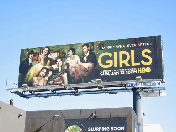 Girls season 3 billboard