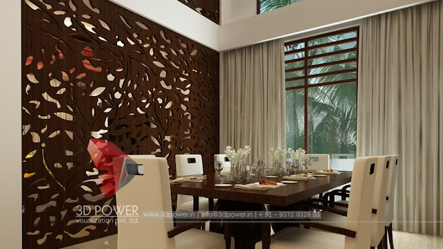 3d interior designs interior designer for Dining room 3d view