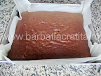 Prajitura boema preparare reteta originala - blatul scos din cuptor