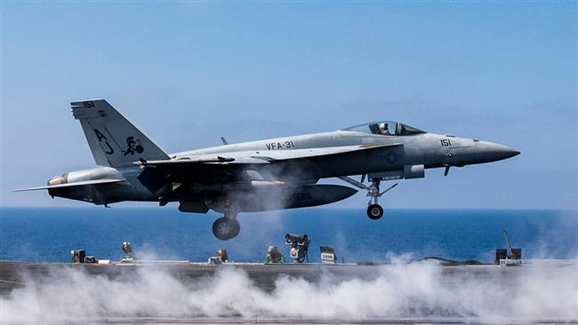 US-led coalition bombing positions in Syria hits ancient wall in Raqqah