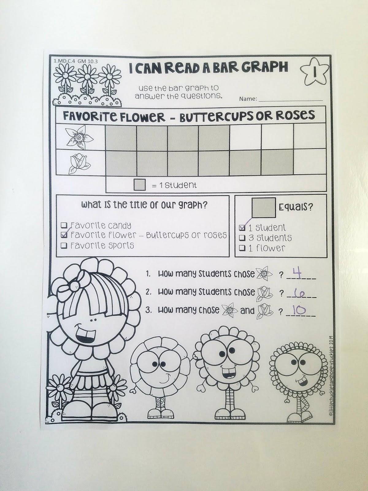 Bar Graph Worksheets Grade 10