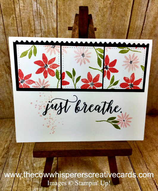 Card, Colorful Seasons, Blooms & Wishes, Ticket Tear Border Punch
