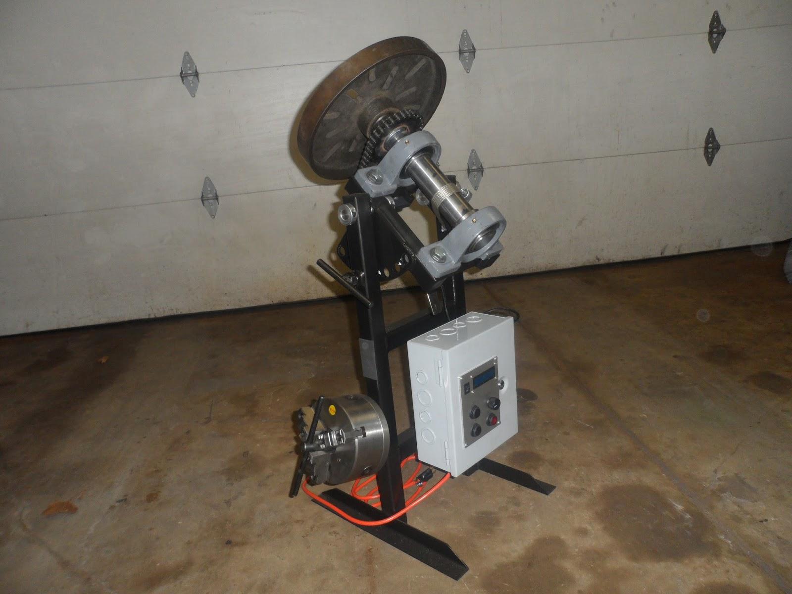 Homemade Welding Turntable Homemade Ftempo