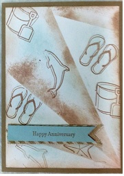 Retiform technique just for you by Bev zena kennedy independent stampin up demonstrator