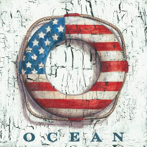Americana Decor With A Nautical Coastal Theme