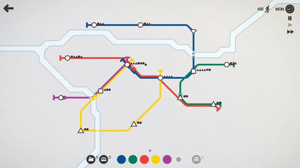 Mini Metro PC Game