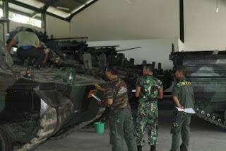 Pemeliharaan Ranpur Marder TNI AD