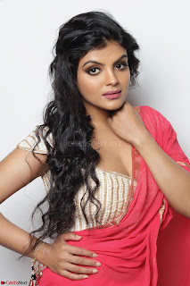 Tejashree New Beautiful Telugu Actress with a figure of 34-28-35 – WOW
