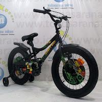 18 united tank bmx sepeda anak black