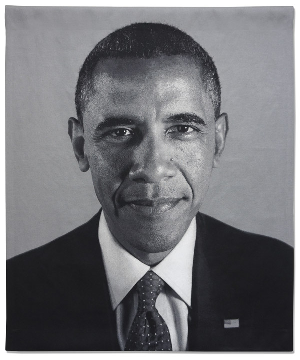 Chuck close fundraiser for obama victory fund