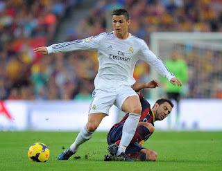 Former Barcelona captain Xavi Hernandez blasted by C Ronaldo