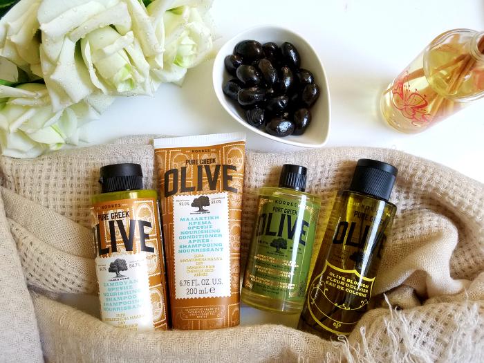 KORRES - Neuheiten der Pure Greek Olive Shampoo, Spülung, Eau de Cologne Olive Blossom, 3in1 Nourishing Oil