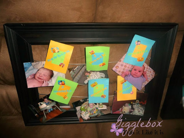 making first birthday party decorations into home decorations, DIY, combining two Pinterest ideas,
