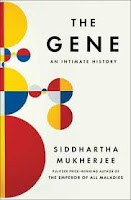 Gene An Intimate History by Siddhartha Mukherjee book cover nonfiction science
