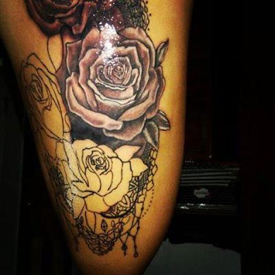 Tatuajes para mujer en la pierna