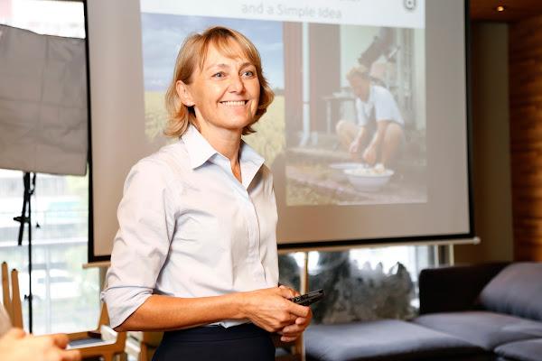 丹麥訂閱式電商時鮮公司(Aarstiderne)執行長安奈特‧哈特維格‧萊森(Annette Hartvig Larsen)
