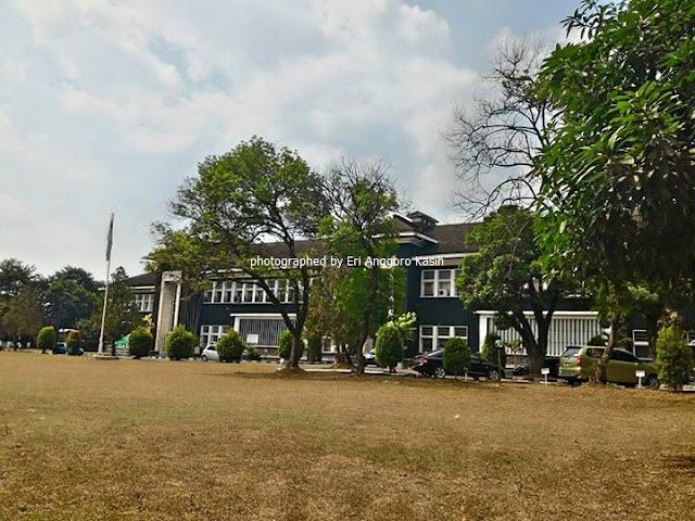 Kampus IPB Baranangsiang-Bogor di musim kemarau