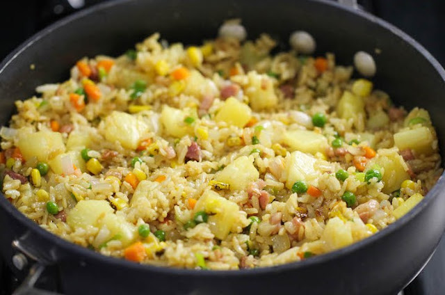 Pineapple Fried Rice #dinner #easy