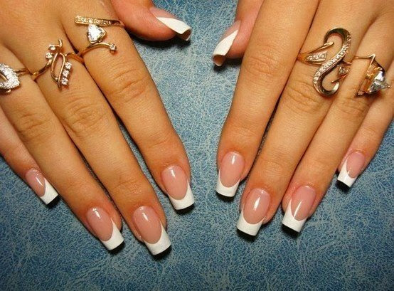 Full Sculpted Gels Custom White Glitz Reflector Silver Big Dot Glitz And Nothing But The Big