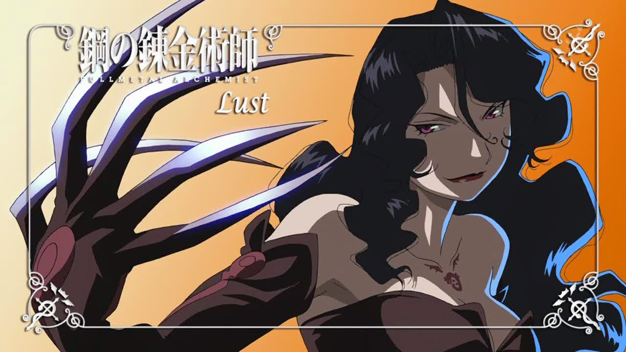 Full Metal Alchemist Brotherhood  Lust
