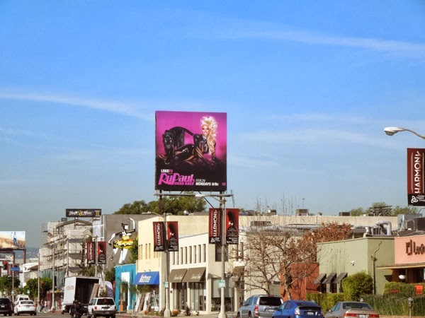 RuPauls Drag Race 6 billboard
