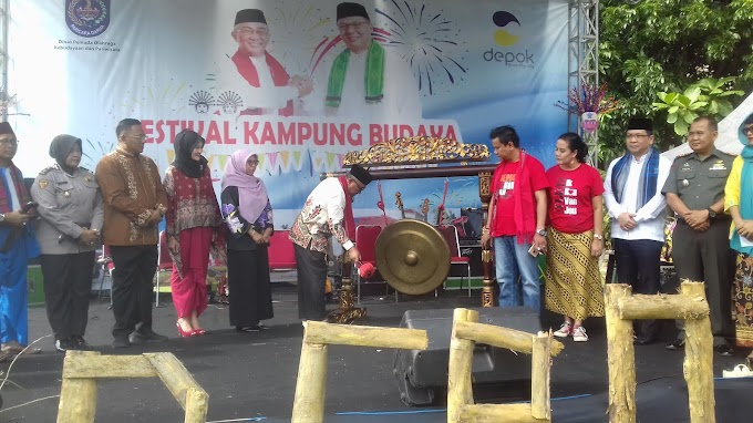 Walikota Buka Festival Kampung Budaya