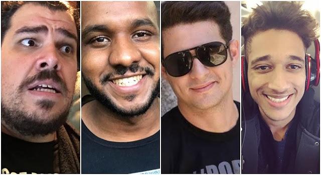 Paxtorzão, Jacinto Manto, Vini Rodrigues,e Rodrigo Fernandes
