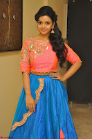Nithya Shetty in Orange Choli at Kalamandir Foundation 7th anniversary Celebrations ~  Actress Galleries 046.JPG