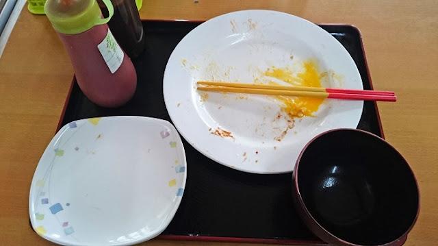 まつもと食堂の食器の写真