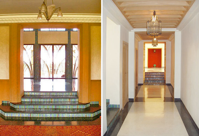 modern minimalist art deco house design interior