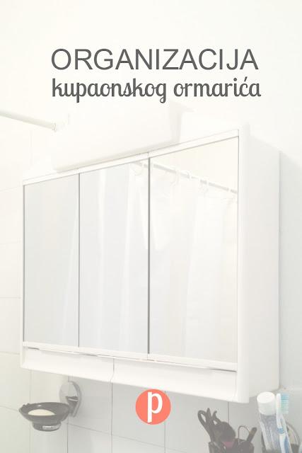 Organizacija kupaonskog ormarića