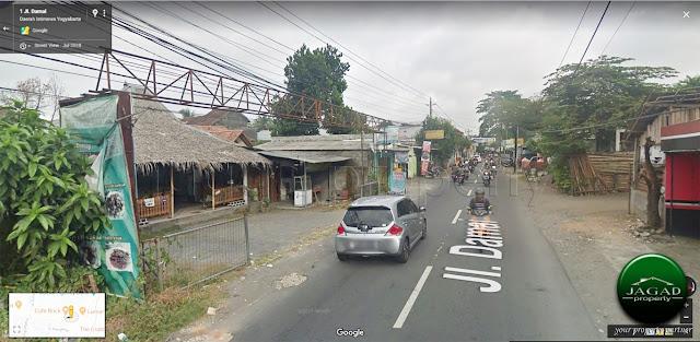 Tanah tepi jalan Damai dekat Cafe Brick