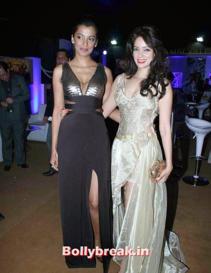 Mugdha Godse, Vidya Malvade, Hot Celebs at India Bridal Fashion Week 2013
