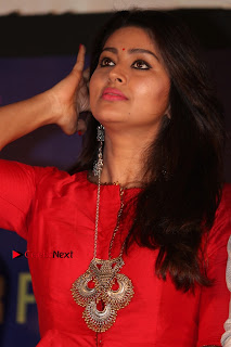 Actress Sneha Latest Stills in Red Dress at Simba Audio Launch  0016.jpg