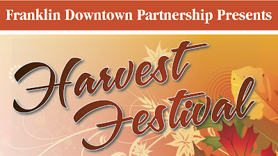 16th annual Franklin Downtown Partnership Harvest Festival