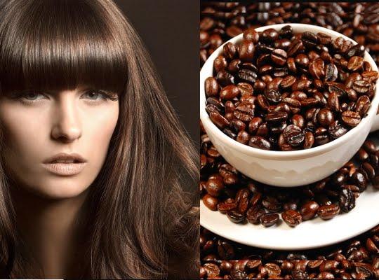 Esencia de cafe para el cabello