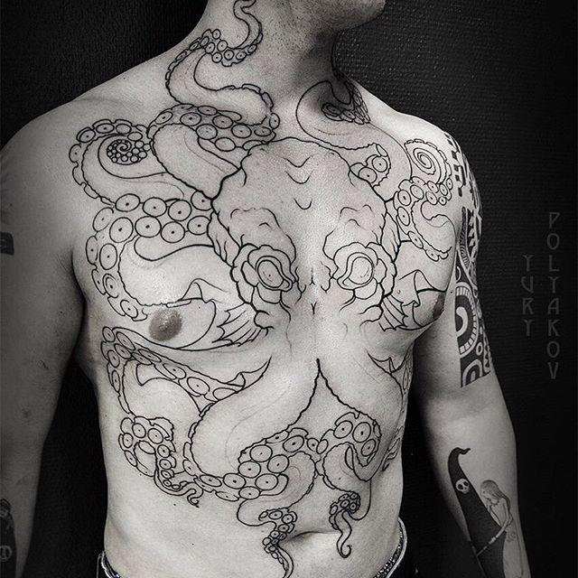 Gambar Tattoo 3D Keren Gurita Terbaru Koleksi Wahok
