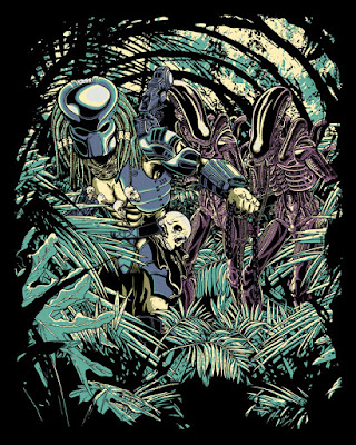 Welcome to the jungle. Alien vs Predator fanart.