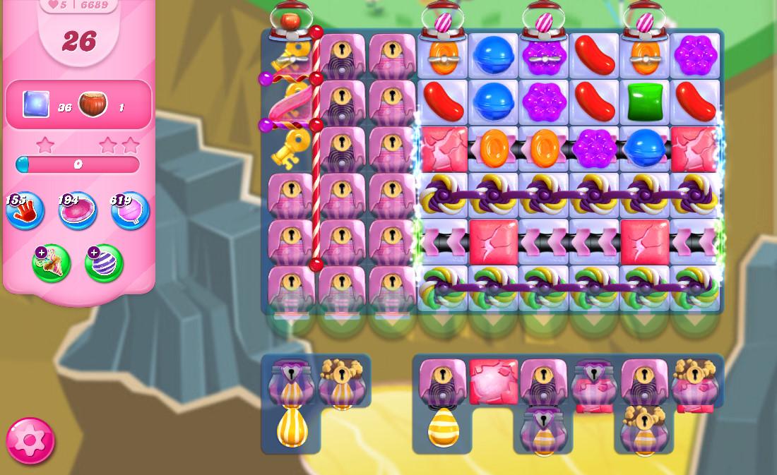 Candy Crush Saga level 6689