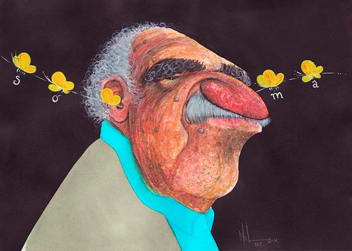 Gabriel García Márquez por Melissa Baena Puerta