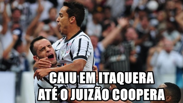 Roubaram o Fluminense para classificar o Corinthians na Copa do Brasil