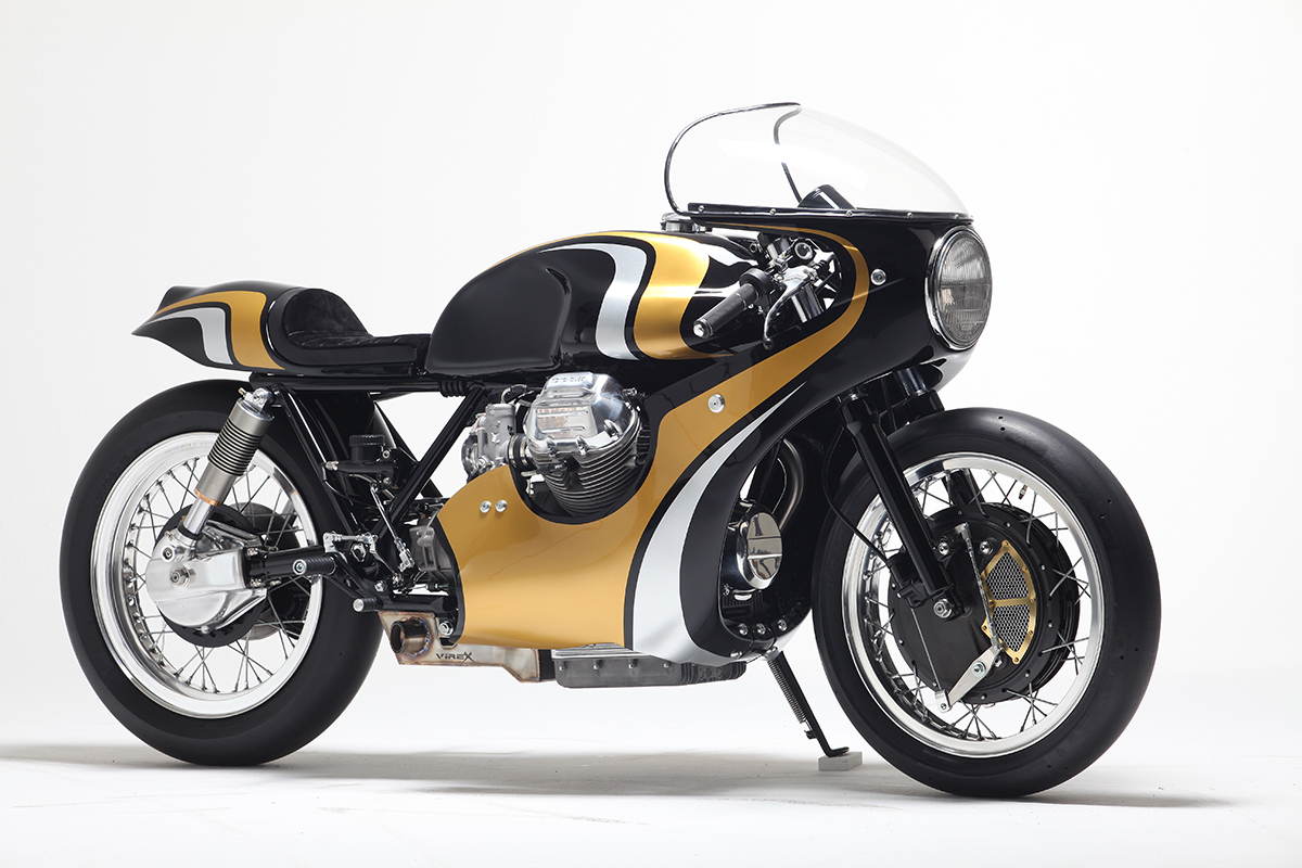 twisted twin stile italiano moto guzzi 950 return of the cafe racers. Black Bedroom Furniture Sets. Home Design Ideas