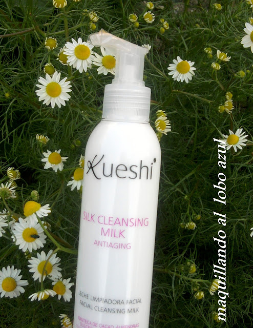 Review silk cleansing milk antiaging de Kueshi
