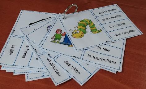 Jeux De Lecture Le Petit Cartable De Sanleane