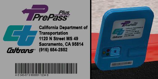 ats prepass transponder logos screenshots 3, California PrePass