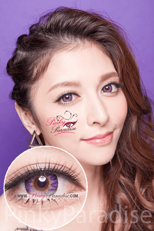 G&G Aurora Violet Circle Lenses (Colored Contacts)