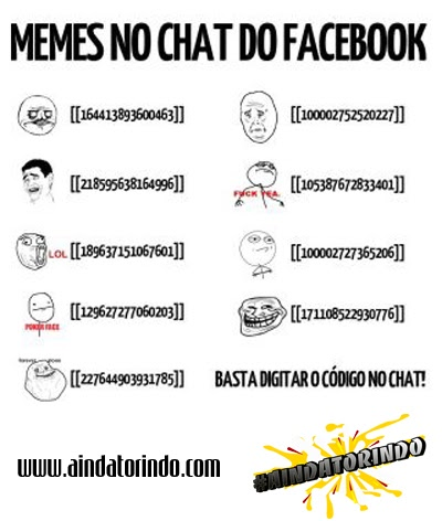 Memes Facebook Chat Memes no chat do Faceb...
