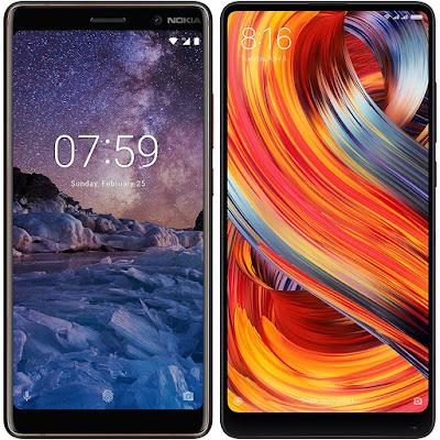 Nokia 7 Plus vs Xiaomi Mi MIX 2